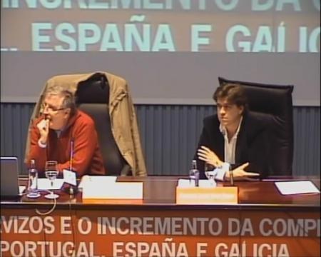 Mesa redonda sobre o sector turístico - Foros sobre a directiva servizos e o incremento da competitividade: Unha oportunidade para Portugal, España é  Galicia